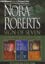 Roberts, Nora Nora Roberts Sign of Seven Compact Disc Collection