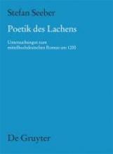 Seeber, Stefan Poetik des Lachens