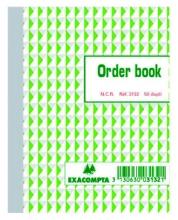 , Orderboek Exacompta 135x105mm 50x2vel