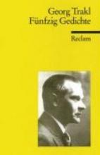 Trakl, Georg Fnfzig Gedichte