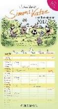 Tofield, Simon Simons Katze Familienkalender 2017