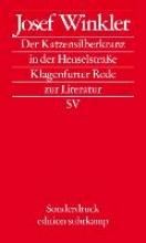 Winkler, Josef Der Katzensilberkranz in der Henselstrae