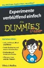 Mullins, Olivia J. Experimente verblüffend einfach für Dummies Junior