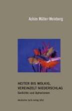 Müller-Weinberg, Achim Heiter bis wolkig, vereinzelt Niederschlag