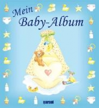Mein Baby-Album blau