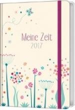 Meine Zeit 2017 - Taschenkalender (Farbenfroh)