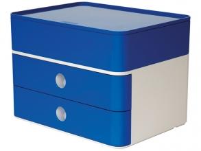 , Smart-box plus Han Allison 2 lades en box royal blauw