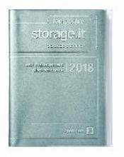 MARK`S 2018 Taschenkalender A5 vertikal, Storage.it /Silver.