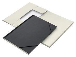 , Combinatiemap Jalema 6 vaks folio zwart