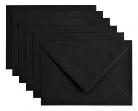 , Envelop Papicolor C6 114x162mm ravenzwart