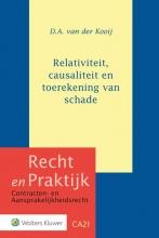 D.A. van der Kooij , Relativiteit, causaliteit en toerekening van schade