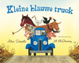 Alice  Schertle Kleine blauwe truck