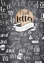 , Chalkletter schetsboek