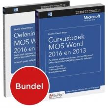 Studio Visual Steps , Cursusboek MOS Word 2016 en 2013 Oefeningenbundel MOS Word 2016 en 2013