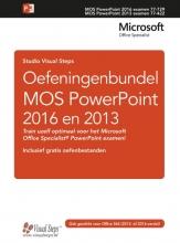 Studio Visual Steps , Oefeningenbundel MOS PowerPoint 2016 en 2013