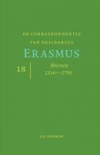 Desiderius Erasmus , De correspondentie van Desiderius Erasmus deel 18