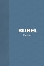 Bijbel (HSV) met Psalmen - hardcover blauw met schelpen