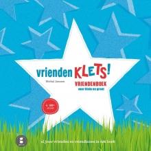Michal  Janssen Vriendenklets! blauwe cover