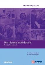 Steven  Jellinghaus, Lieke van den Eijnden OR in bedrijf thema Het nieuwe arbeidsrecht