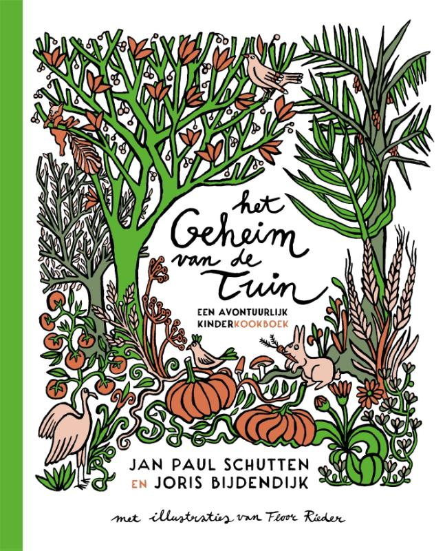 Jan Paul Schutten,Het geheim van de tuin