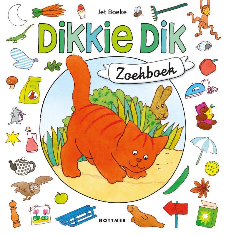 Jet Boeke,Dikkie Dik zoekboek