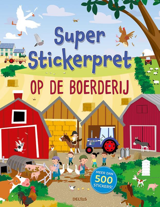 ,Super Stickerpret - Op de boerderij