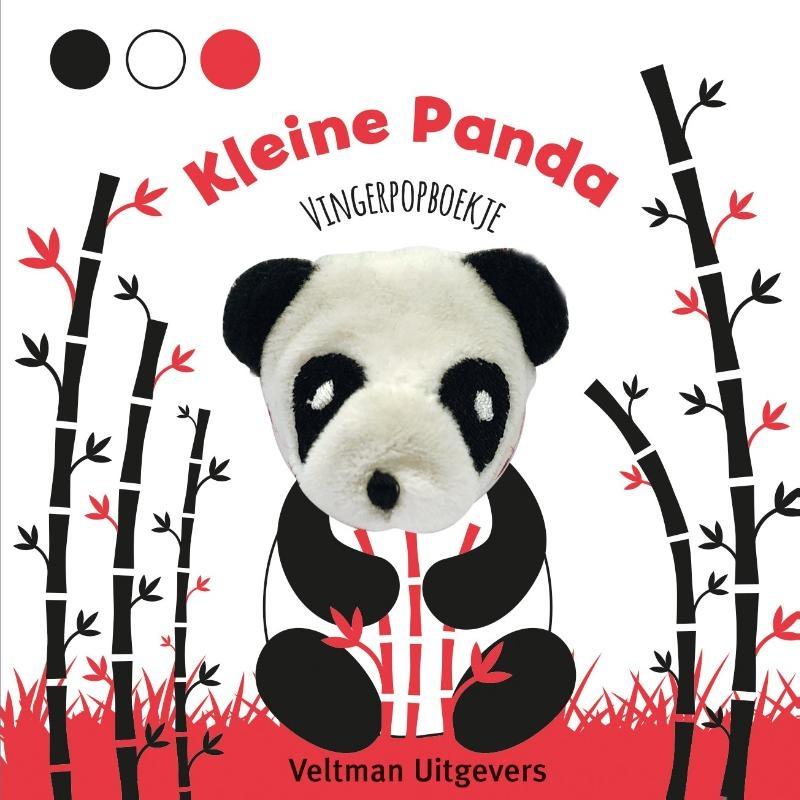 ,Vingerpopboekje Kleine Panda