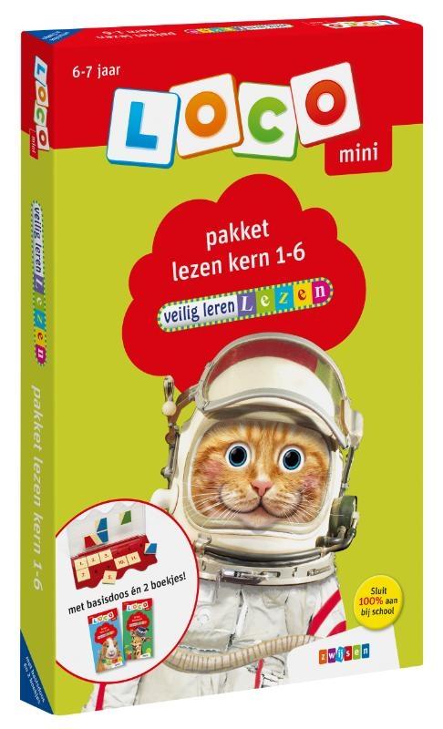 ,Loco mini veilig leren lezen pakket lezen kern 1-6