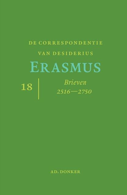 Desiderius Erasmus,De correspondentie van Desiderius Erasmus deel 18