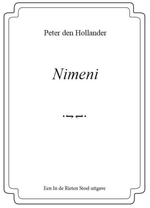 Peter den Hollander,Nimeni