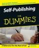 Rich, Jason R.,Self-Publishing For Dummies®