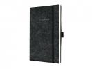 ,notitieboek Sigel Conceptum Look Felt A5 gelinieerd         softcover donkergris