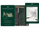Fc-112972 ,Faber-Castell  Grafietpotloden Set 11 Stuks Pitt
