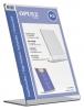 ,Kaarthouder OPUS 2 L-standaard A5 staand acryl