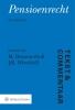 M. Dommerholt, J.R. Wirschell,Pensioenrecht