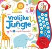 ,Vrolijke Jungle - geluidboek