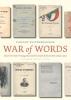 Vincent  Kuitenbrouwer,War of words