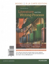 McMahan, Elizabeth Literature and the Writing Process