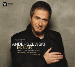 piotr Anderszewski, Cd mozart piano concertos 25 & 27