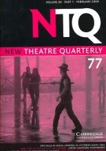 New Theatre Quarterly 77