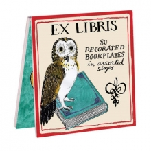 Galison Molly Hatch Owl Bookplates