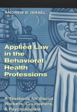 Andrew B. Israel Applied Law in the Behavioral Health Professions