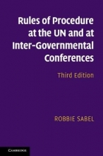 Sabel, Robbie Rules of Procedure at UN and Inter-Governmental Conferences
