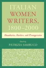 Italian Women Writers 1800-2000