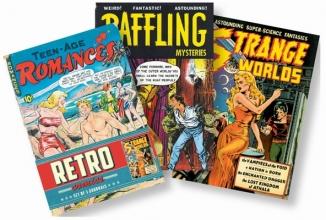 Retro Comics Set of 3 Journals