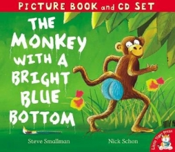 Smallman, Steve Monkey with a Bright Blue Bottom