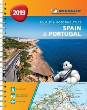 Spain & Portugal 2019 - Tourist and Motoring Atlas (A4-Spira