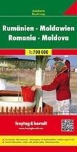 , Rumänien. Moldawien 1 : 700 000. Autokarte