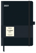 , Agenda 2021 cool diary 16x22 zwart