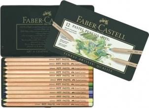 Fc-112112 , Faber-castell pastelpotloden pitt  12 st